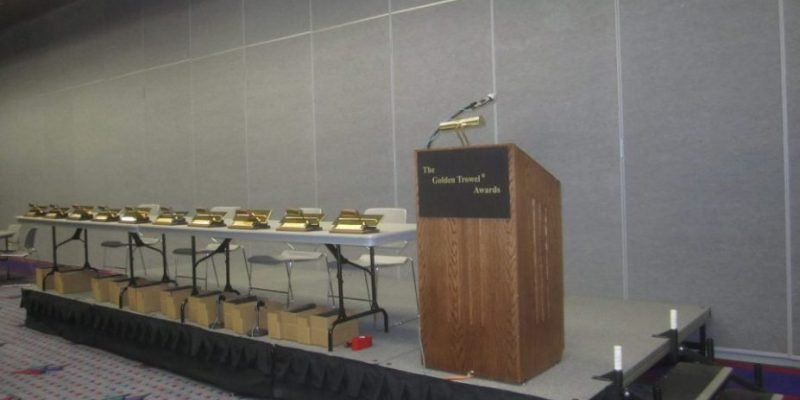 Golden Trowel Awards Presentation